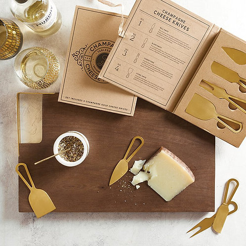 Gold Charcuterie Tools