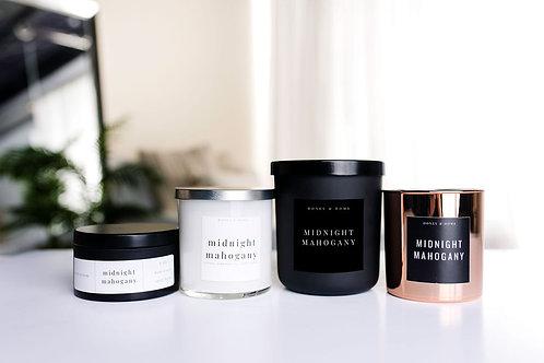 Midnight Mahogany Candle