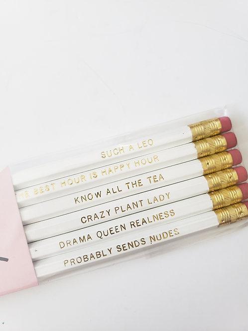 Leo Pencil Set