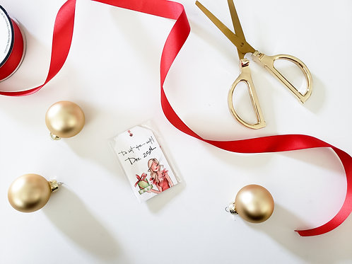 Holiday Frills Gift Tags