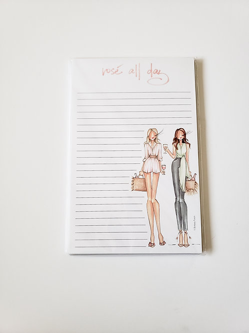 Rose All Day Notepad