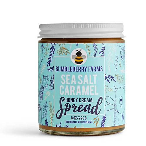 Sea Salt Caramel Honey Spread