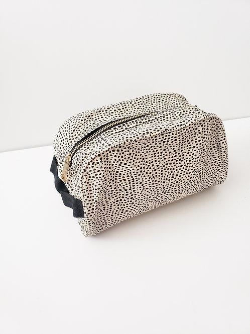Cheetah Cosmetic Case