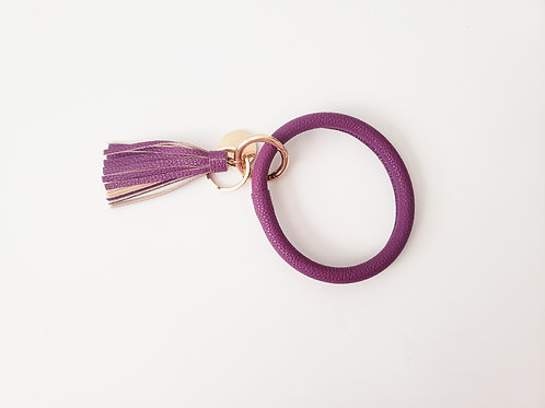 Purple Bangle Key Ring