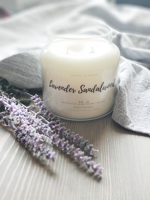Lavender Sandalwood Candles