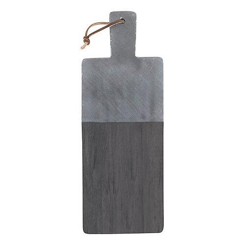 Wood + Marble Serving Board