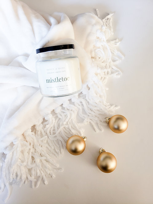 Mistletoe Candles