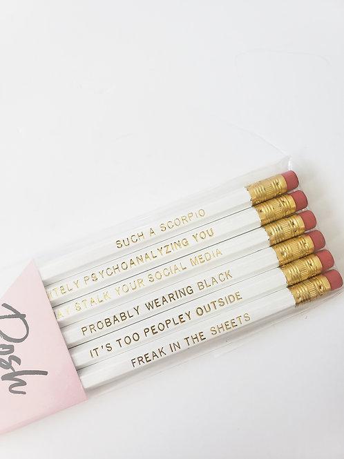 Scorpio Pencil Set