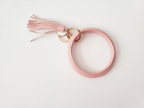 Blush Bangle Key Ring