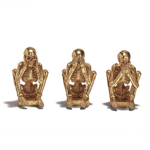 No Evil Vibes Skeleton Set