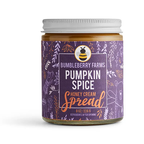 Pumpkin Spice Honey Spread