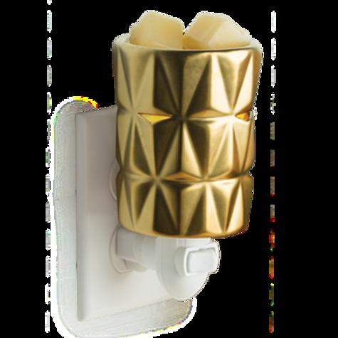 Golden Glow Wall Wax Warmer
