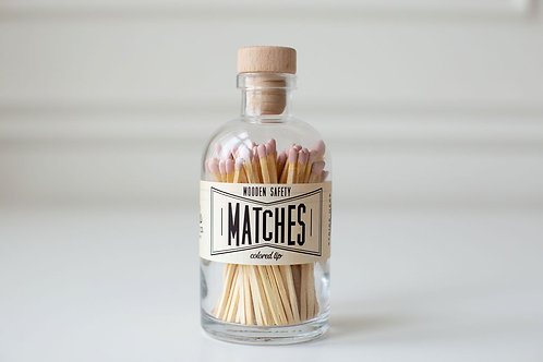 Blush Pink Large Apothecary Matches