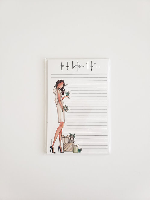 Carrie Notepad