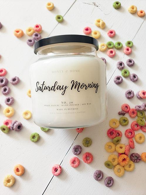 Saturday Morning Candles
