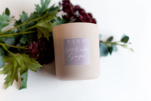 White Raspberry Sangria Candle