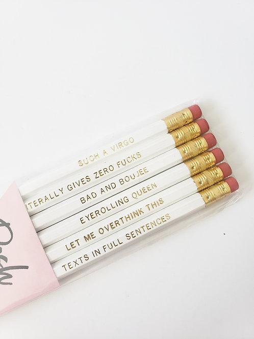Virgo Pencil Set