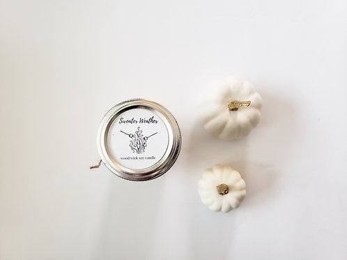 Sweater Weather Woodwick Candle