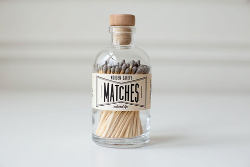 Gray Large Apothecary Matches