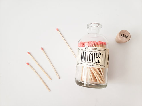 Hot Coral Matches