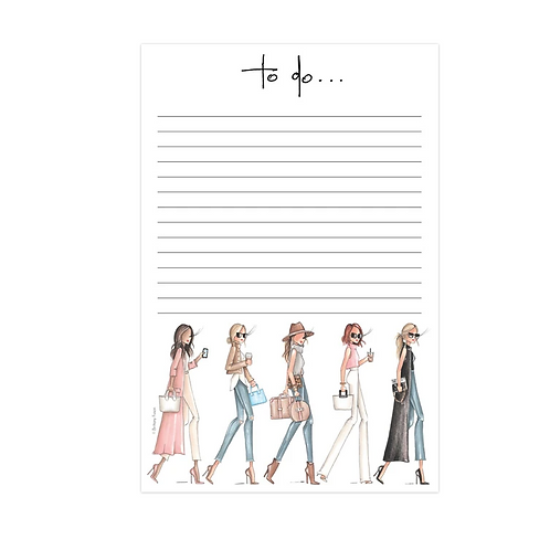 Walk This Way Notepad