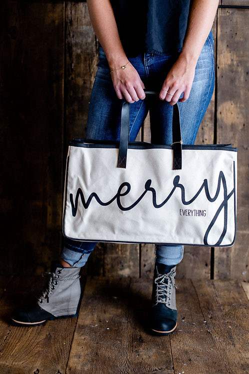 Merry Everything Present Tote