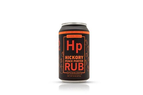 Hickory Peach Porter Rub