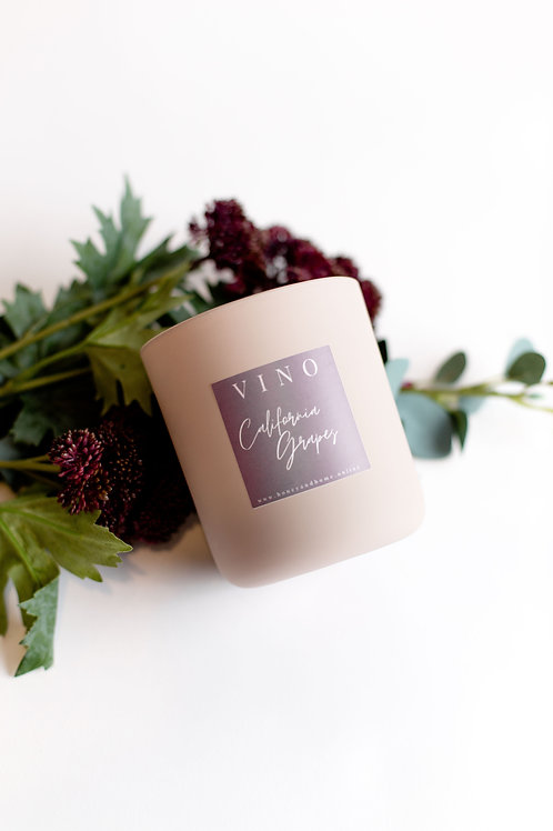 California Grapes Candle