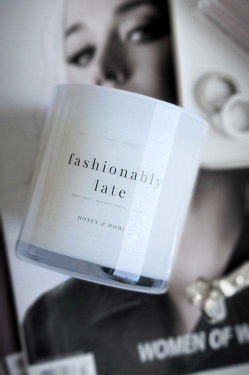 Fashionably Late Candle