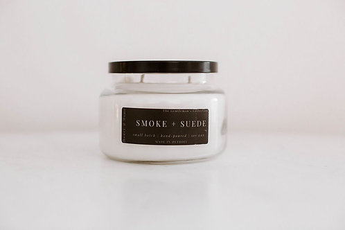 Smoke + Suede Candle