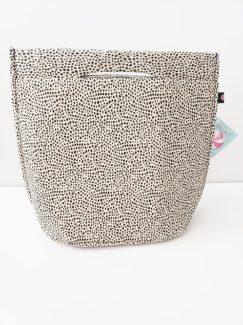 Cheetah Lunch Mini Tote