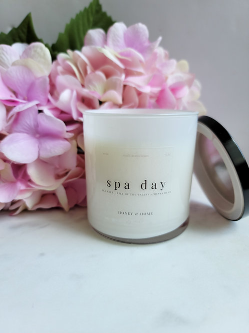 Spa Day Candle