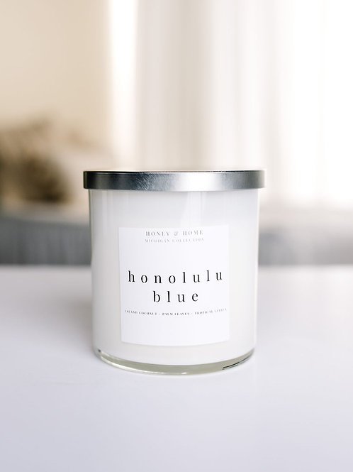 Honolulu Blue Candle