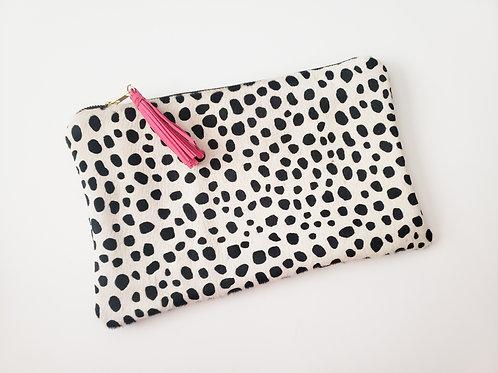 Dalmatian Dolly Clutch