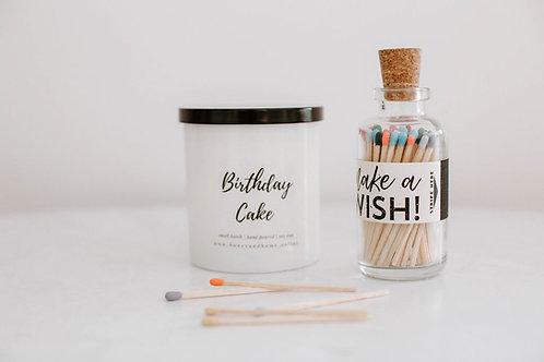 Birthday Candle Gift Set