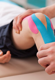 RockTape, Knee pain, Chiropratic