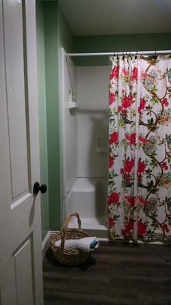 Full size shower/baths