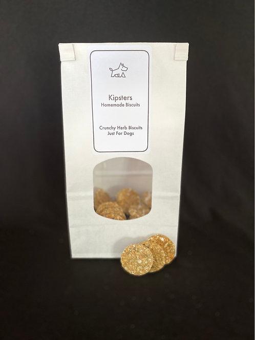 Crunchy Herb Bite Size Biscuits