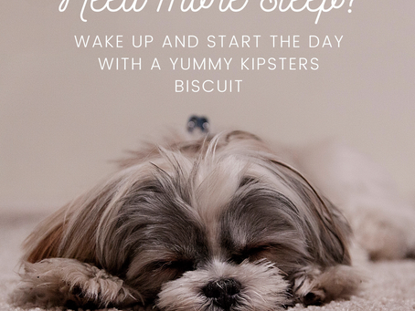 Would your dog wake up for a Kipsters?