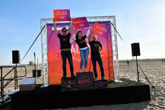 Malibu Race Podium