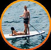 Paddle Boarding in Malibu