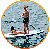 Paddle Boarding in Malibu