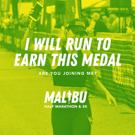 I will run to earn this medal - Green.pn