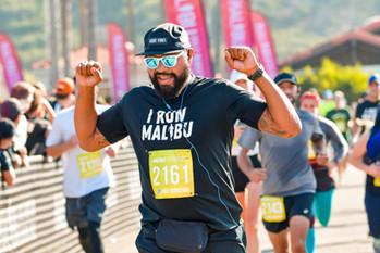 Malibu Half Marathon & 5K Finish Line