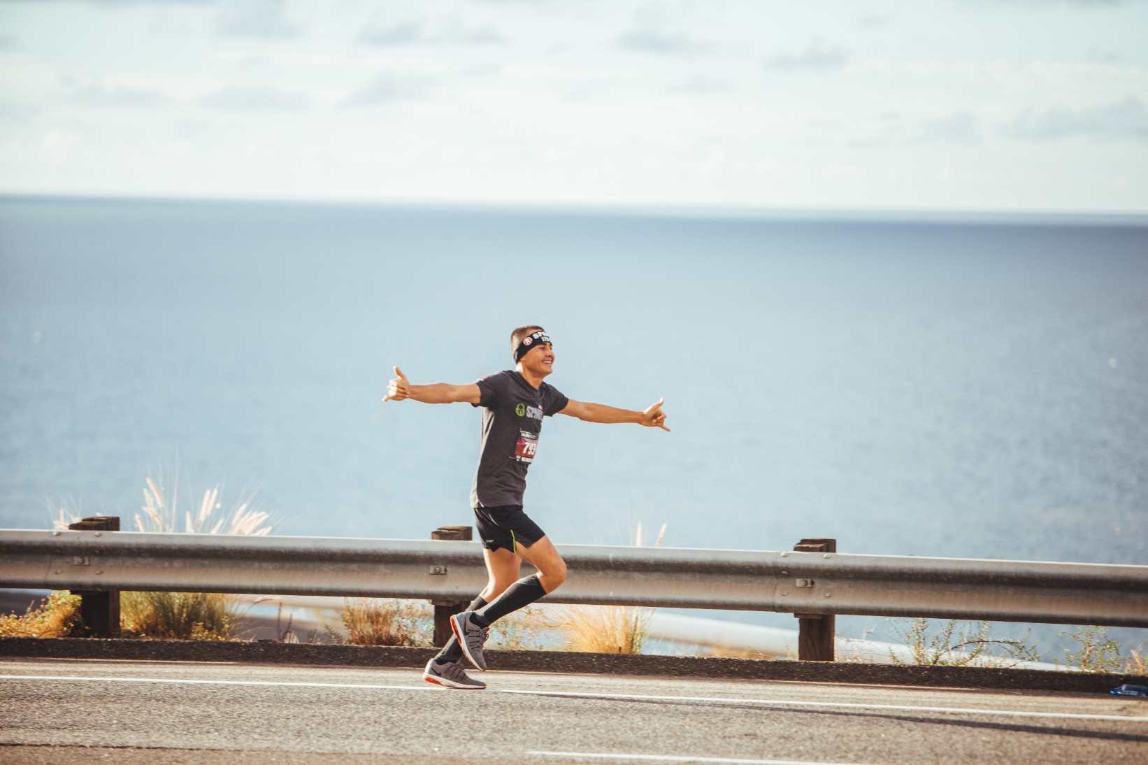 The Malibu Half Marathon scenic Course features incredible views of the ocean, the Malibu coastline and dolphins in the the water.