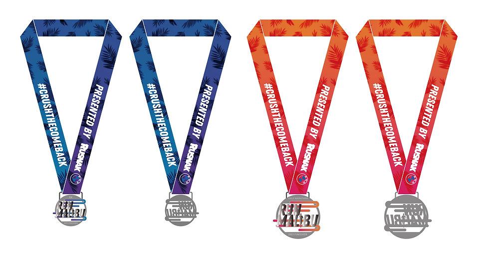 Run Malibu 2021 Medal