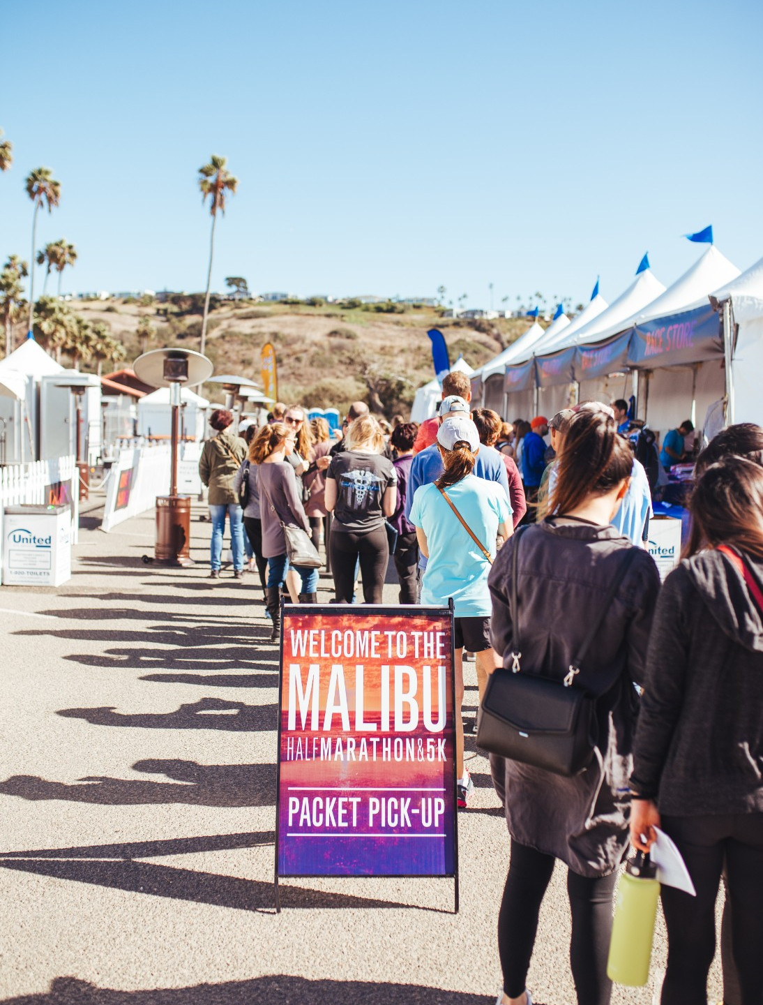 In addition to picking up your Bibs, timing tags and race t-shirt, the Malibu Half Marathon & 5K Expo & Packet Pickup features merchandise for sale, demonstrations and information from a variety of merchants and vendors.