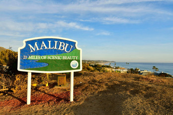 Run By The Malibu Sign