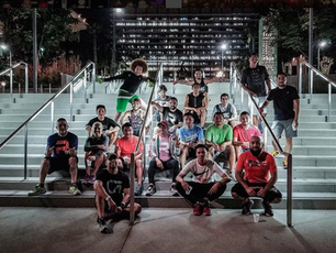 The LA Run Crew Scene