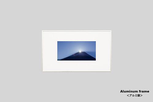 富士山,ダイヤモンド富士,写真,額入り,壁掛け,アートポスター,オリジナルプリント,インテリアフォト,風景,自然,インテリア,アート,額装,アートフレーム,おしゃれ,モダン,壁飾り,装飾,ウォールアート,新築祝い
